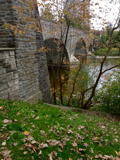 A lovely shot of the bridge at Old Mill, Toronto with my phone (dang I wish I had my camera!!)