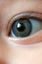 My baby nephew's beautiful eye.
