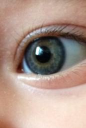 My baby nephew's beautiful eye.