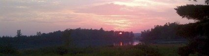 A beautiful evening in Mid-Southern Ontario