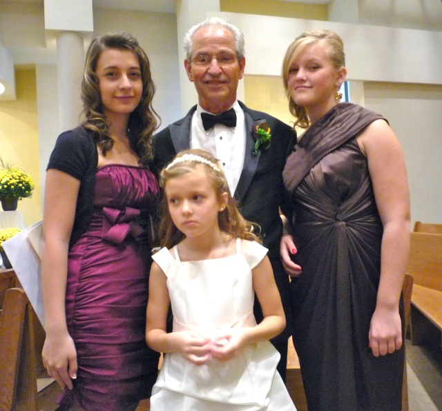 Nonno with his girls