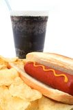 photo from http://www.dreamstime.com/photos-images/hot-hog-fast-food-meal-potato-chips-soda.html