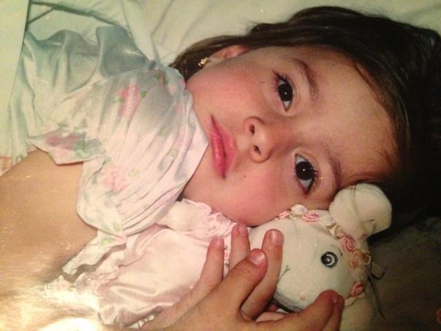 Victoria, so precious as a baby